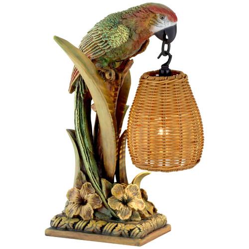 Parrot Paradise Table Lantern