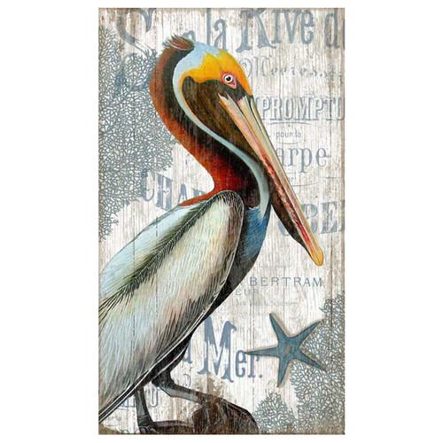 Pelican Beach Wall Art