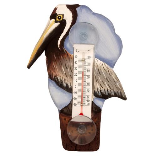 Pelican Pier Window Thermometer