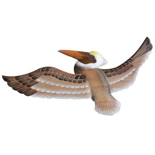 Pelican Wings Wood Wall Art