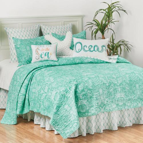 Victoria Bay Coastal Quilt Bedding Collection