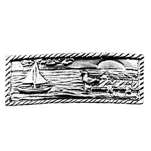 Sail Boat Scene Cabinet Pull