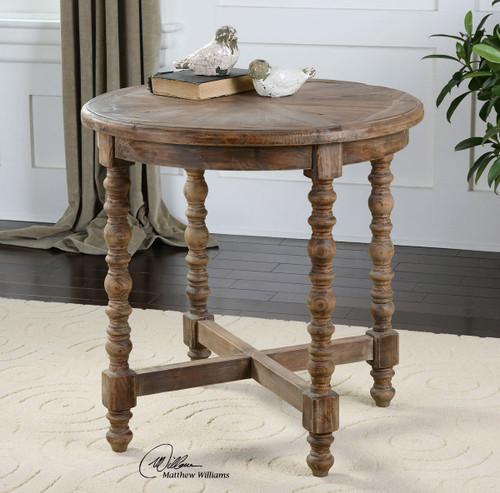 Sunburst End Table