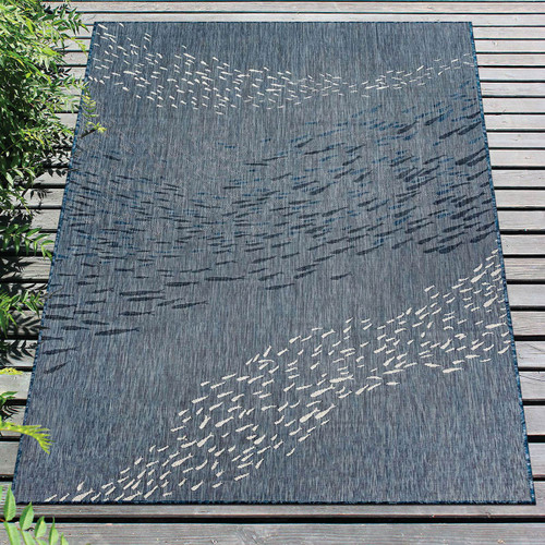 Cabo Fish Navy Indoor/Outdoor Rug Collection