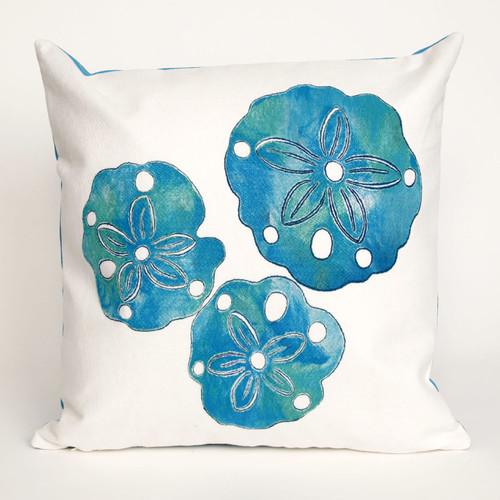 Sand Dollar Pearl Pillow - 20 x 20