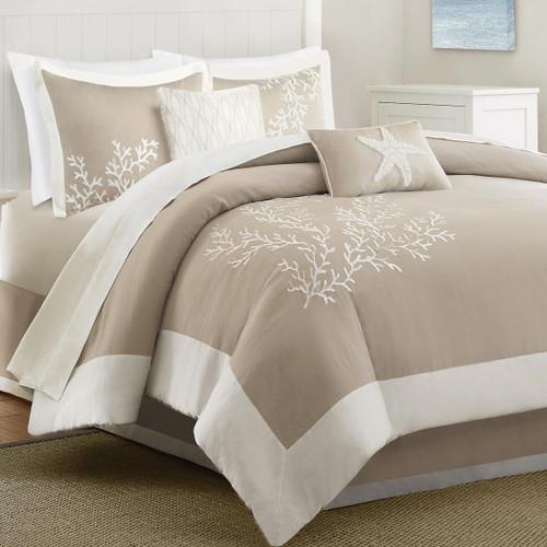 Sandy Reef Comforter Set - King