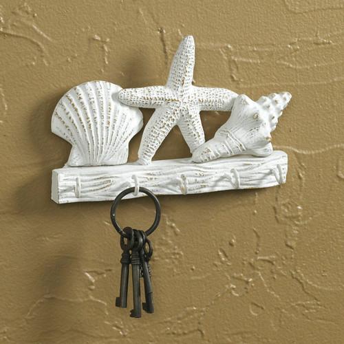 Sanibel Shells Key Rack