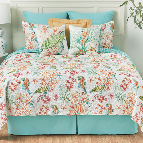 Sea Bounty Quilt Set - Twin - BACKORDERED UNTIL 7/13/2021
