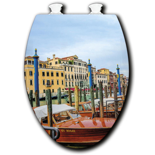 Colorful Canal Toilet Seats