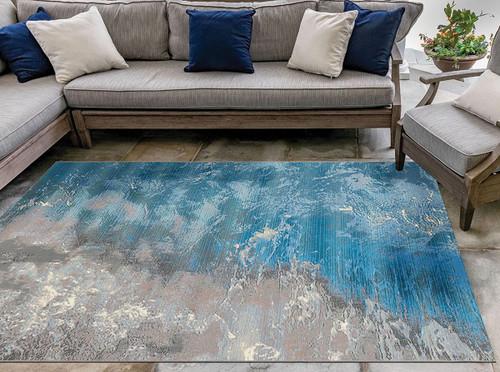Contemporary Sea Indoor/Outdoor Rug Collection