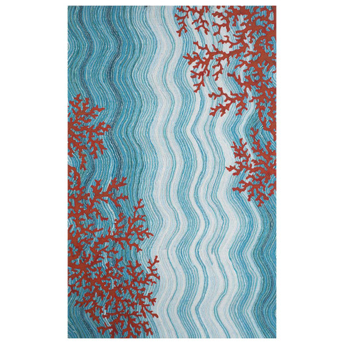 Coral Radiance Rug Collection