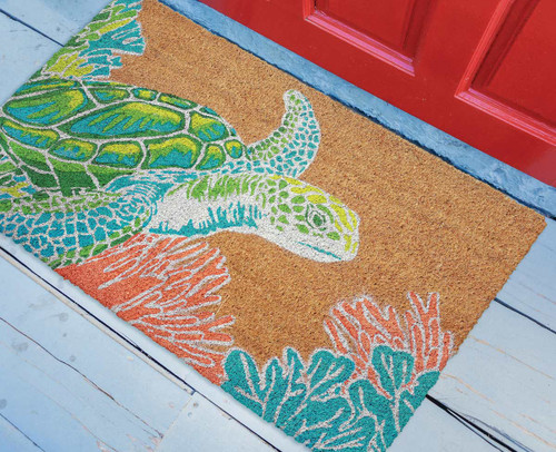 Sea Turtle Reef Coir Mat