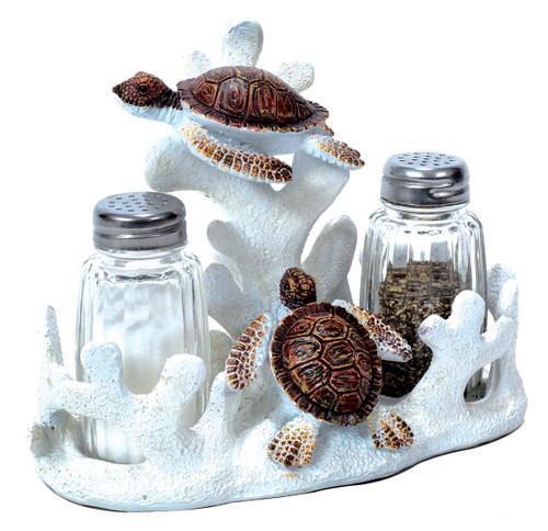 Sea Turtle Salt & Pepper Holder