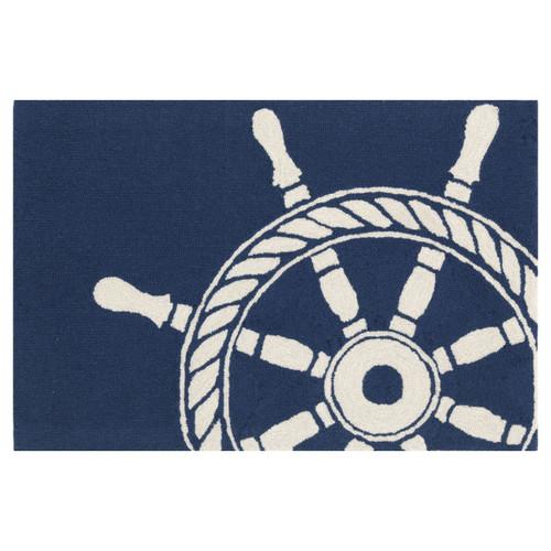 Maritime Ship Wheel Rug Collection