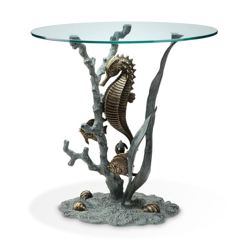 Seahorse End Table - BACKORDERED UNTIL 11/23/2021
