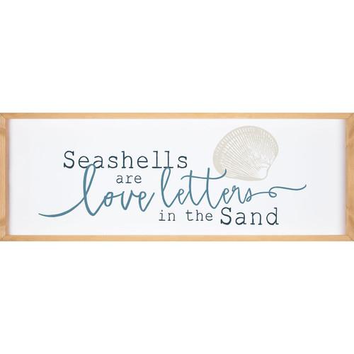 Seashell Love Wall Art