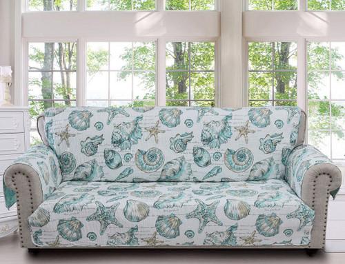 Seaside Memories Sofa Protector