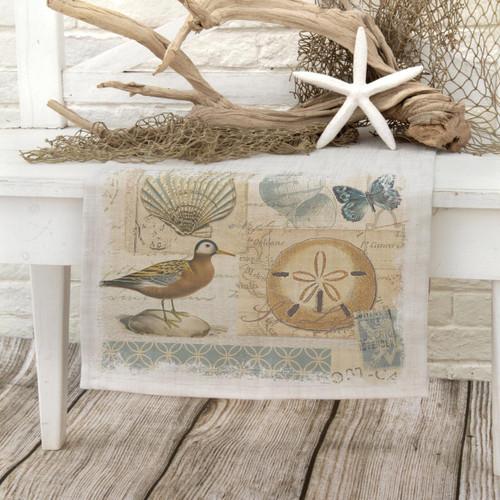 Shorebirds Runner - 16 x 48