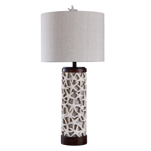 Starfish Cluster Table Lamp with Nightlight