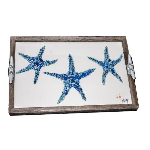 Starfish Driftwood Tray