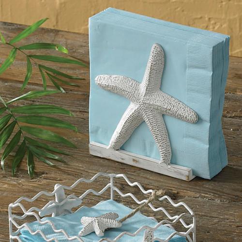 Starfish luncheon Napkin Holder