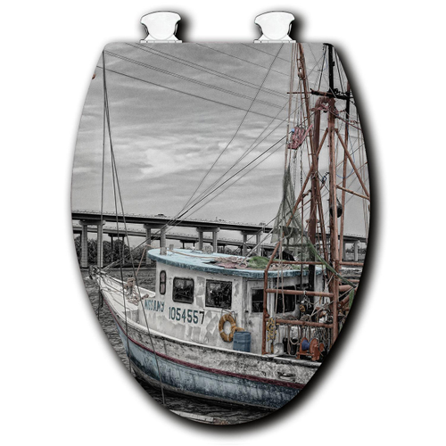 Old Boat Toilet Seats