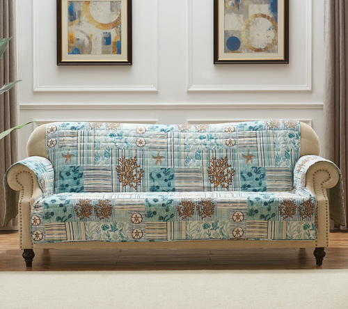 Coral Patches Furniture Protectors