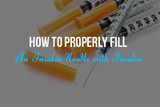 How to properly fill a Needle - Bulk Syringes