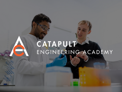 Two Catapult Engineering Students