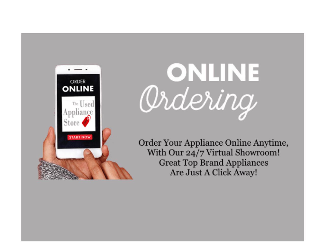 Order Appliances Online
