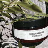 Mississippi Miracle Clay 100percent PURE MAGNESIUM BENTONITE CLAY HYDRATED CLAY, 4oz