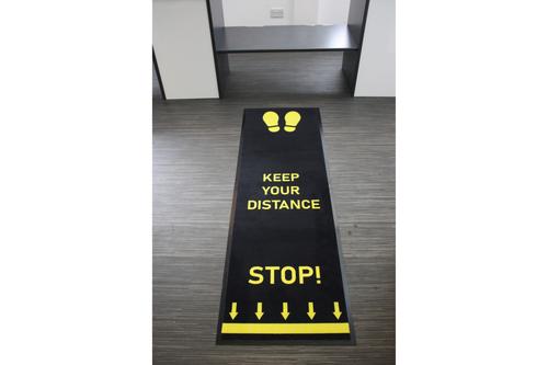 Social Distancing 2m Floor Mats
