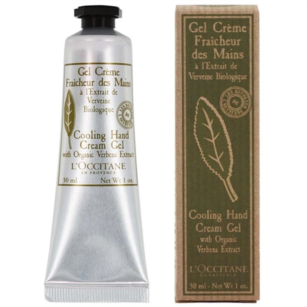 L'occitane Verbena Cooling Hand Cream Gel 1 oz (30ml)