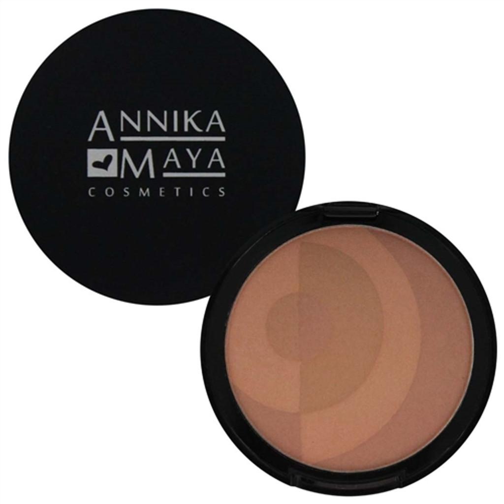 Annika Maya Mineral Sheer Matte Bronzer - Sunkissed