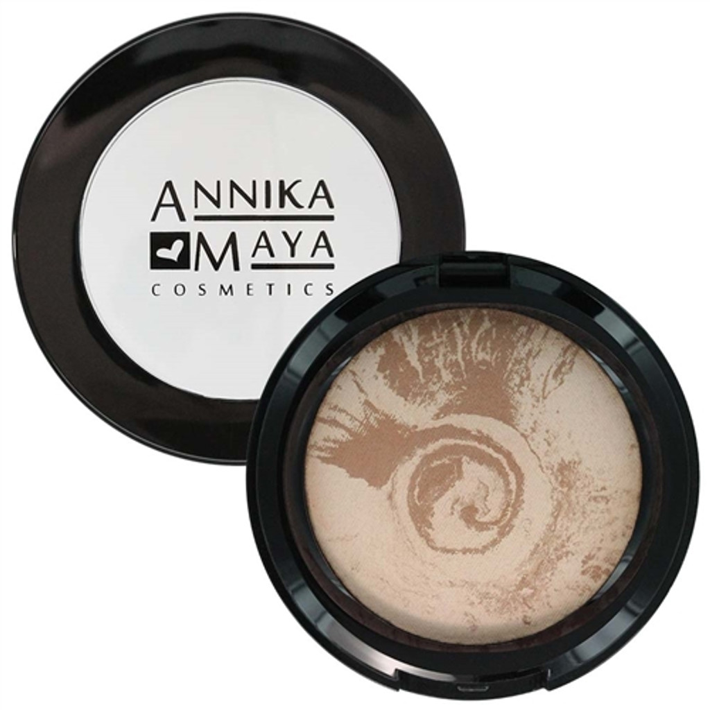 Annika Maya Baked Finishing Powder - Matte Bronze