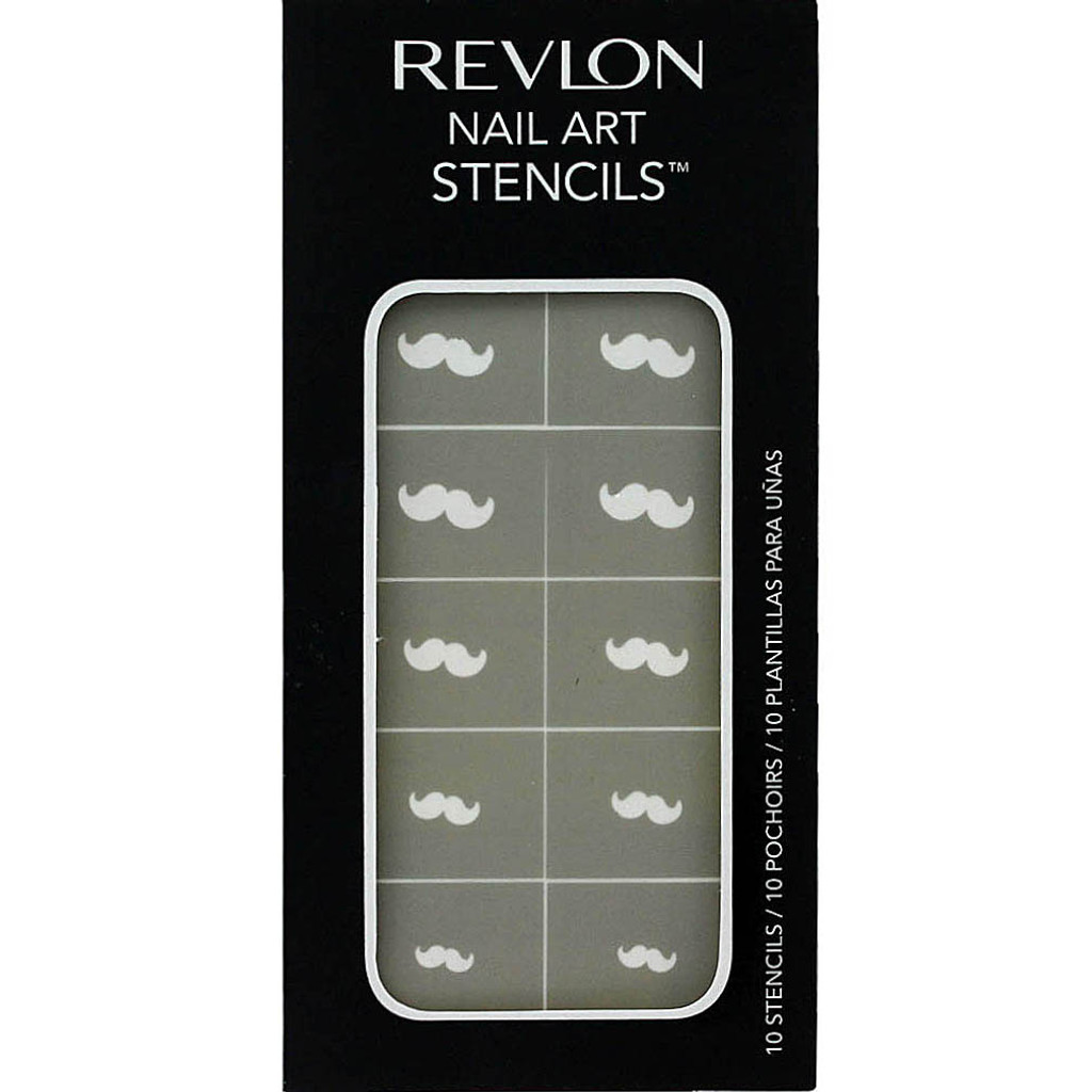 Revlon Nail Art Stencils - Mustaches