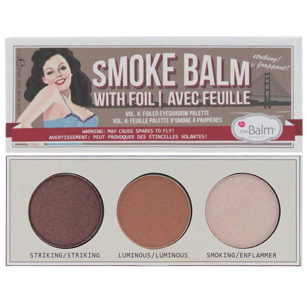 b74f6e44bf3 theBalm Smoke Balm Vol. 4 - Foiled Eyeshadow Palette - Brigettes ...