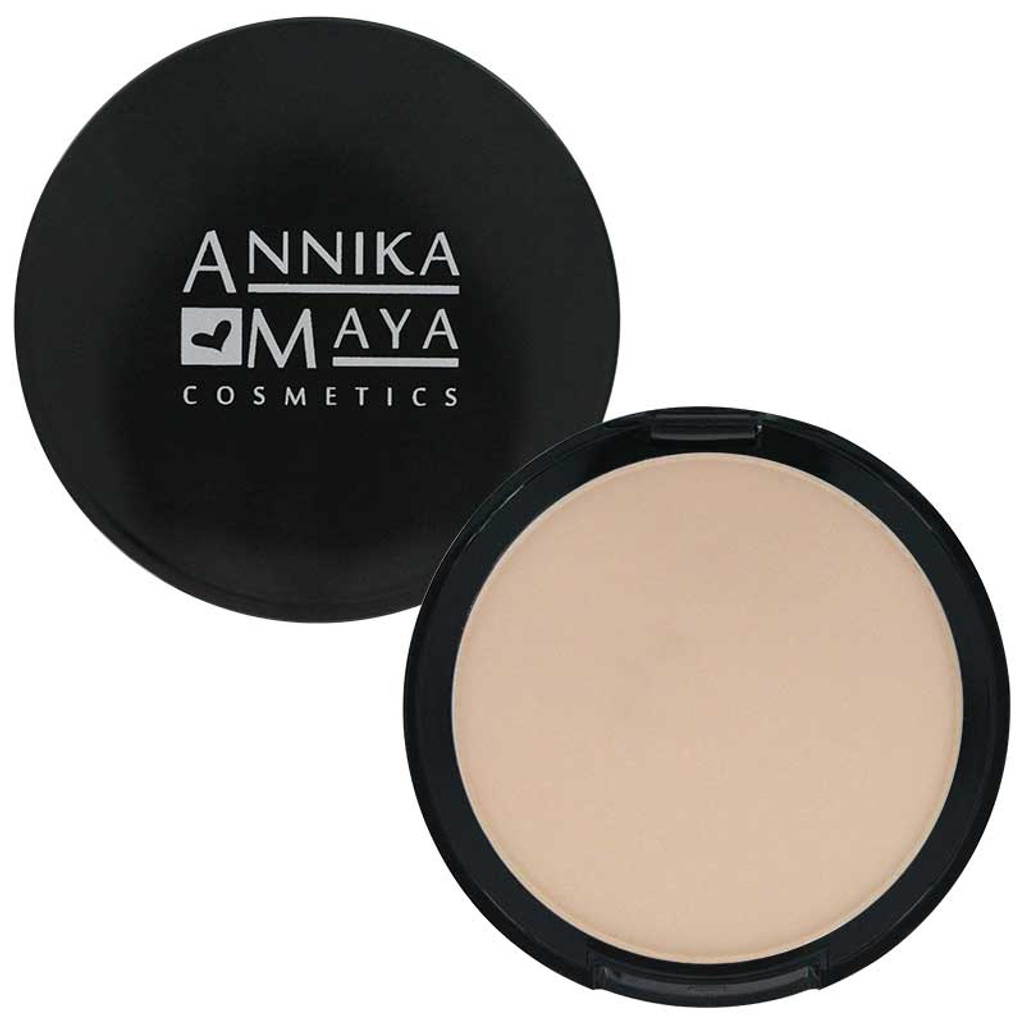 Annika Maya Mineral Powder Foundation - Cream