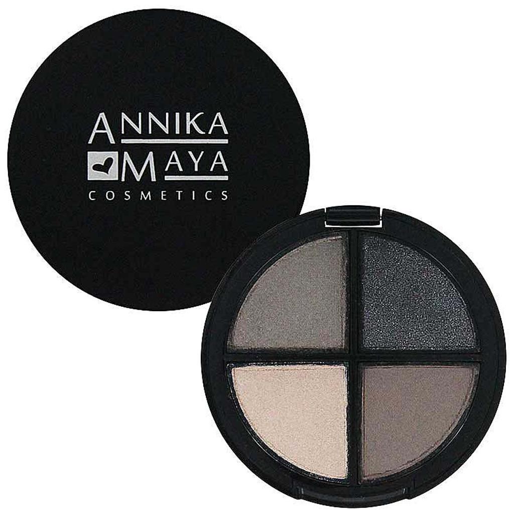 Annika Maya Signature Shadow Quad - Smoke And Mirrors