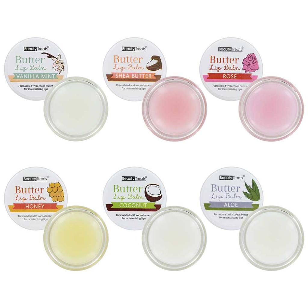 Beauty Treats Butter Lip Balm