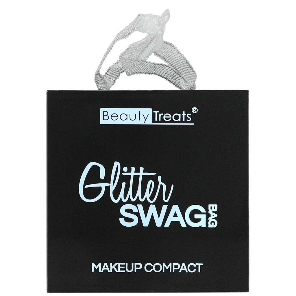 Beauty Treats Swag Bag All-In-One Compact - Glitter