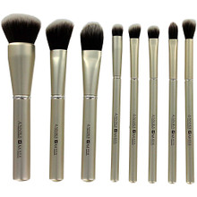 Annika Maya 8 pc Brush Set - Champagne Kisses