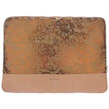 Pixie Mood Isla Laptop Sleeve -  Copper Lace Cork