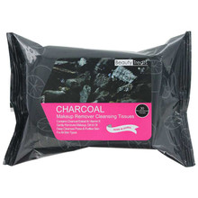 Beauty Treats Makeup Remover Cleansing Tissues - Charcoal