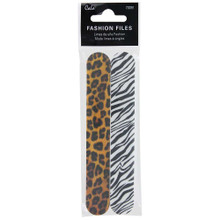 Cala Fashion Nail File - Animal Print (2pk)