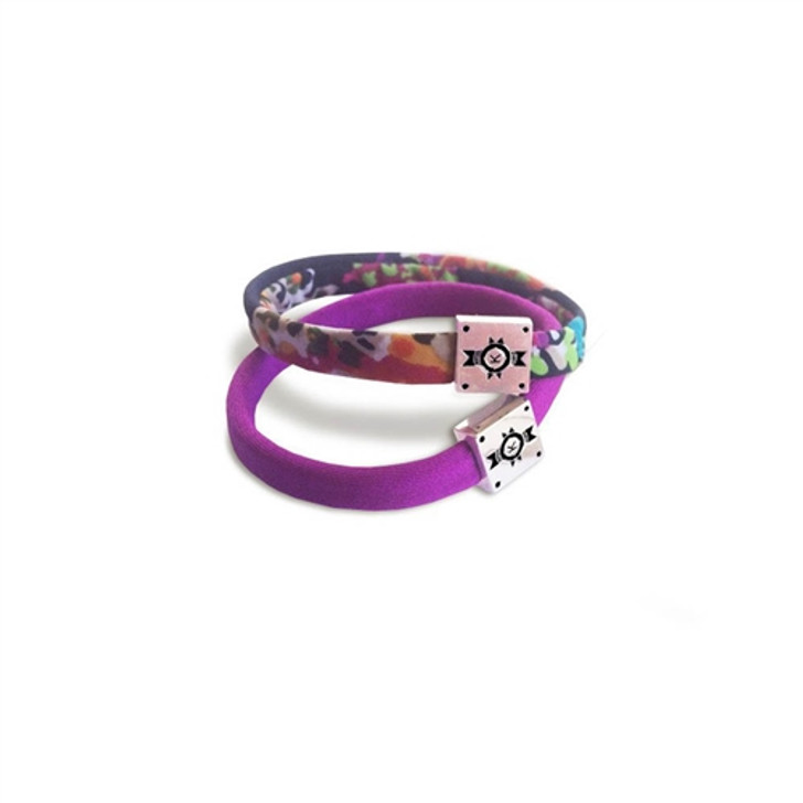 Kinsman Kini Bands Mermaid Hair Ties - Magenta