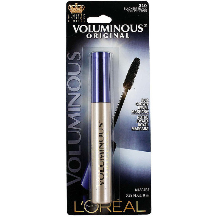 Loreal Voluminous Original Crown Jewel Mascara - Blackest Black 310