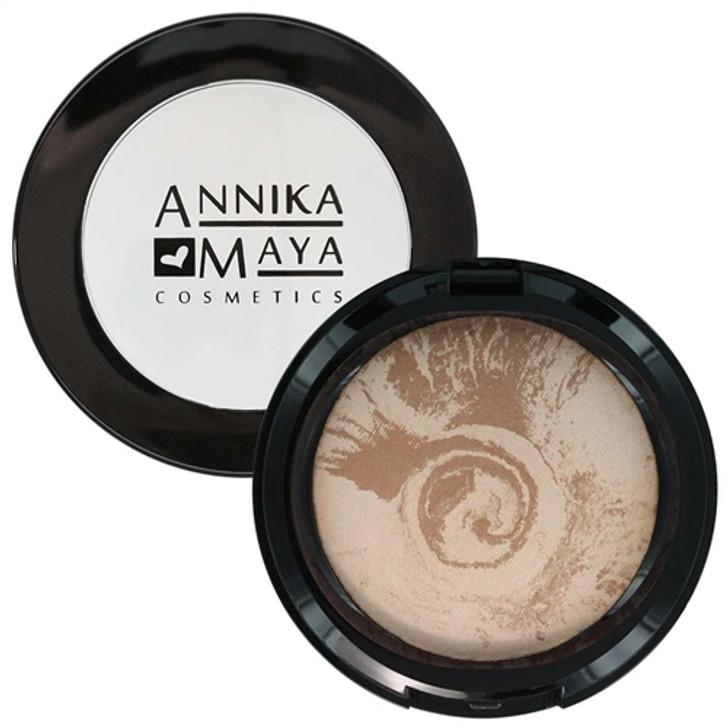 Annika Maya Baked Finishing Powder - Matte Bronze