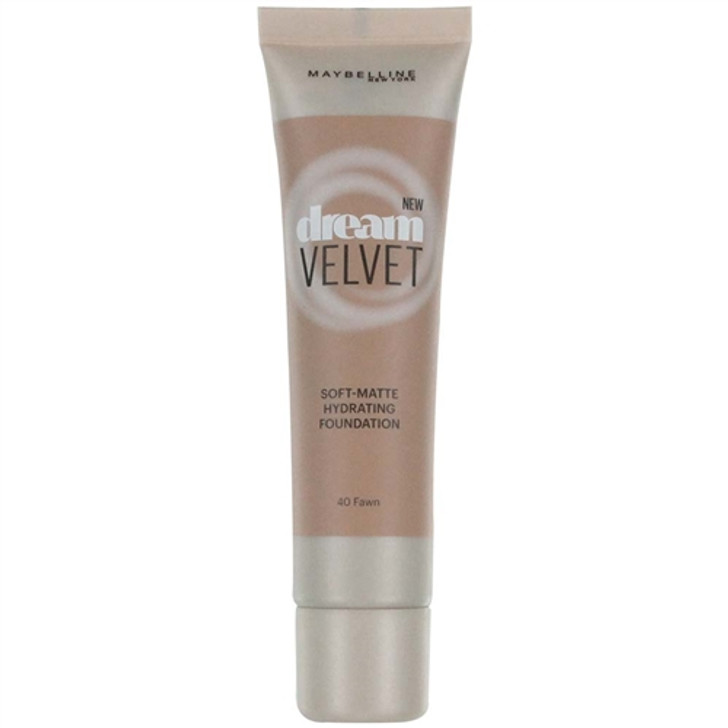 Maybelline Dream Velvet Soft-Matte Foundation - Fawn 40