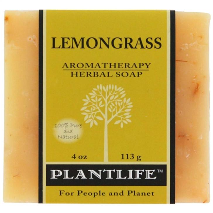 Plantlife Aromatherapy Herbal Soap - Lemongrass